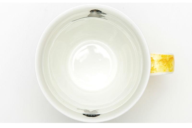 英国DUNOON丹侬骨瓷杯马克杯树獭狐獴水杯杯口