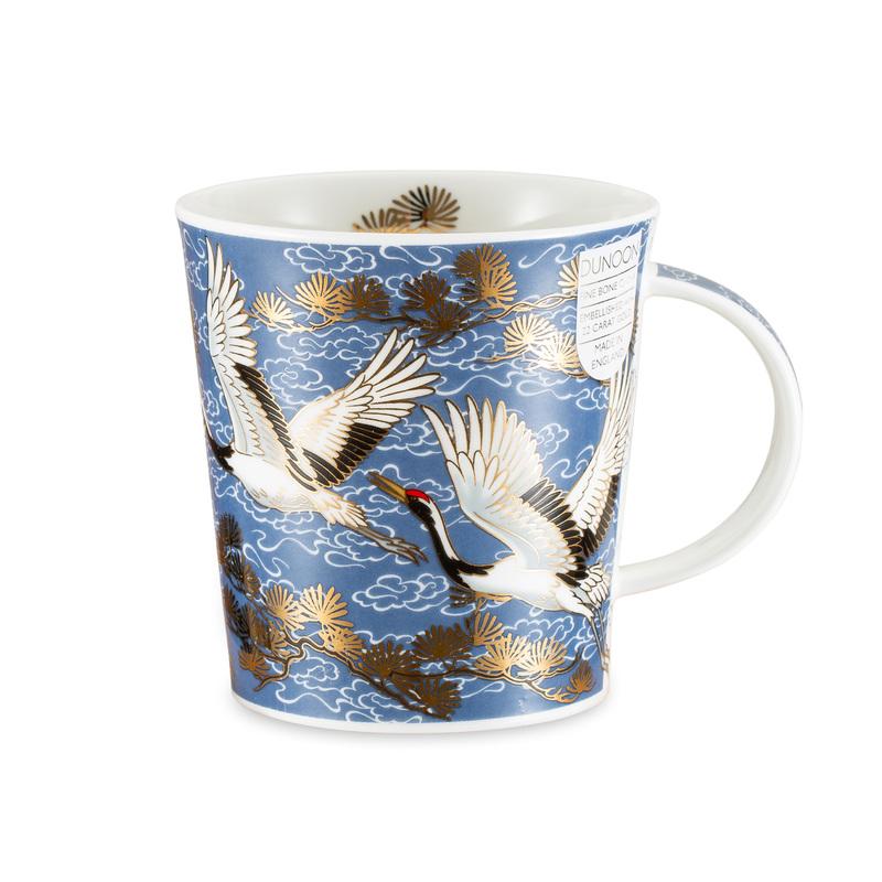 DUNOON 英国丹侬Dunoon骨瓷杯马克杯仙鹤系列