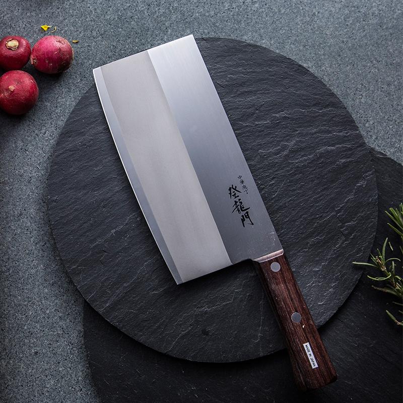 日本TOJIRO(藤次郎)不锈钢富士登龙门 菜刀FG-68褐色