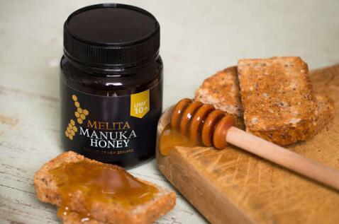 可以蘸着吃的UMF10+melita麦卢卡蜂蜜