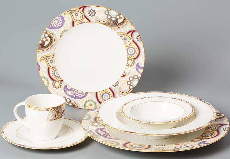Seltmann Weiden佩斯利图案系列碗碟套装